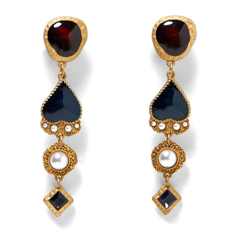 Jewelry Elegant heart pendant Earrings For Women Earrings