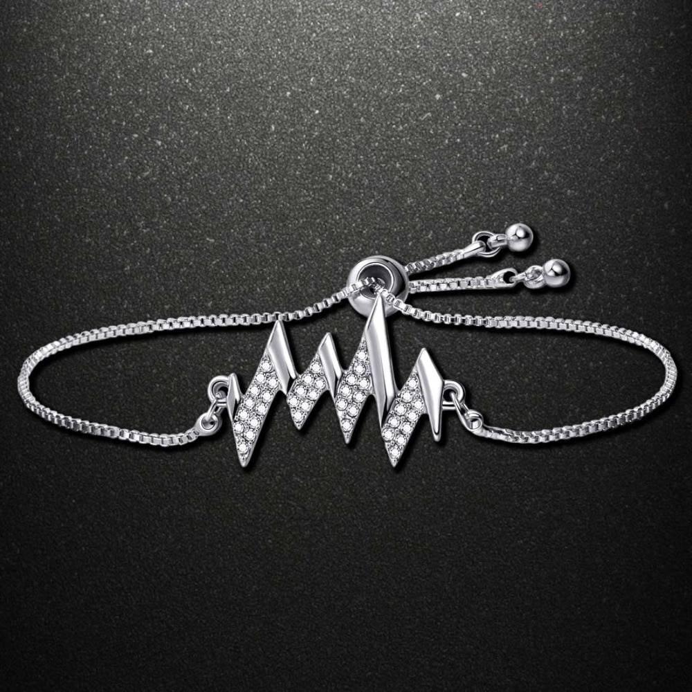 2019 Summer Latest DIY Popular Lucky Girls Kids Charms Zircon Copper Bracelet For Women kawaii jewelry Bracelets