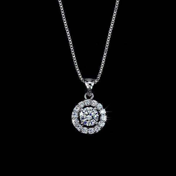 Top Quality Exquisite Women Wedding Necklace Earring Ring Jewelry Set silver plated silver Plated Zircon Crystal Jewelry Set Wedding & Engagement Jewelry