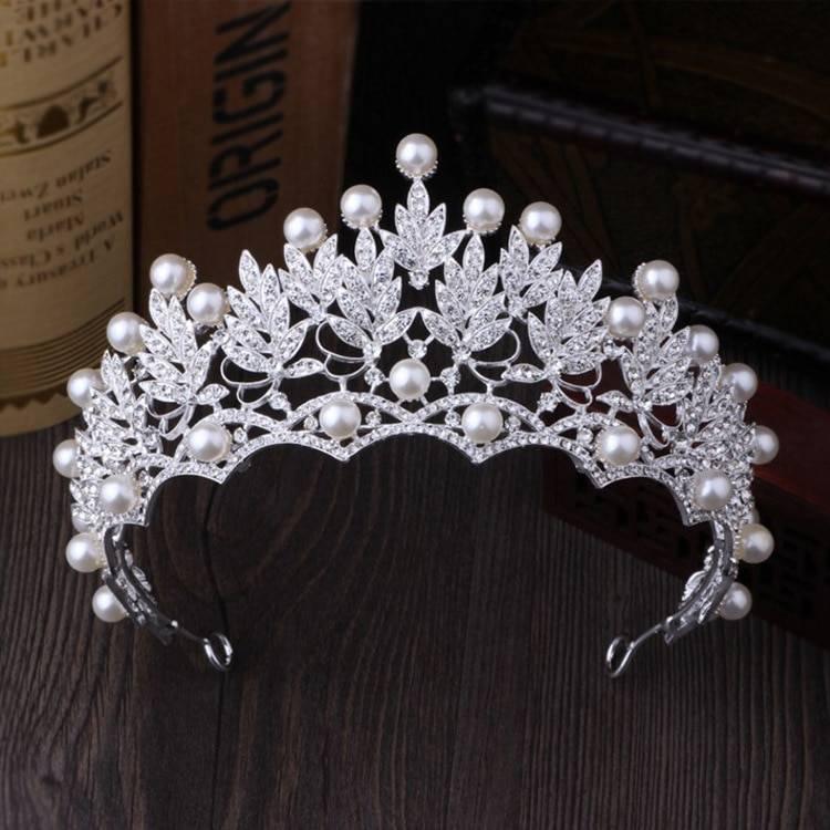 jewelery sets New Design Rhinestone Choker Necklace Earrings Tiara Bridal Women Wedding Jewelry Set Jewelry Set Wedding & Engagement Jewelry