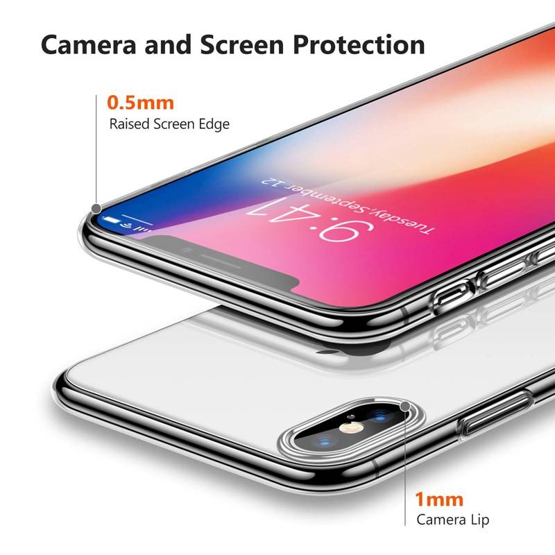 Luxury Case For iPhone X XS 8 7 6 s Plus Capinhas Ultra Thin Slim Soft TPU Silicone Cover Case For iPhone XR 8 Coque Fundas Capa iPhone Case