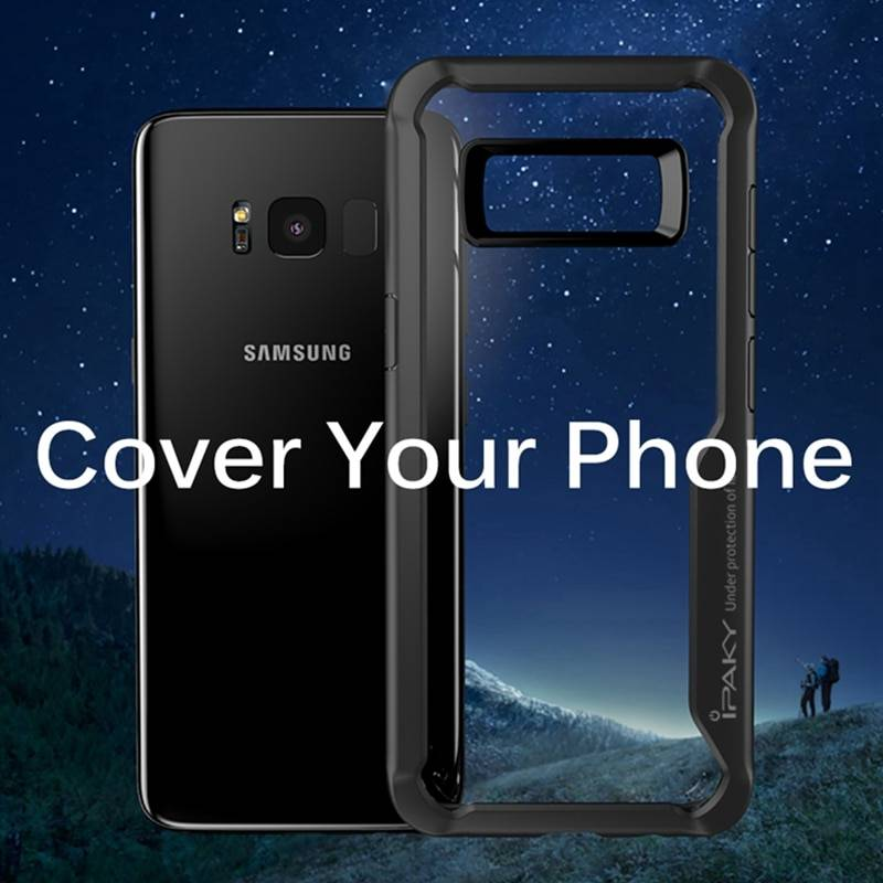 Phone Case For Samsung Galaxy S8 S9 S10 Luxury Transparent Silicon TPU Cover Case For Samsung S8 Case Samsung Case