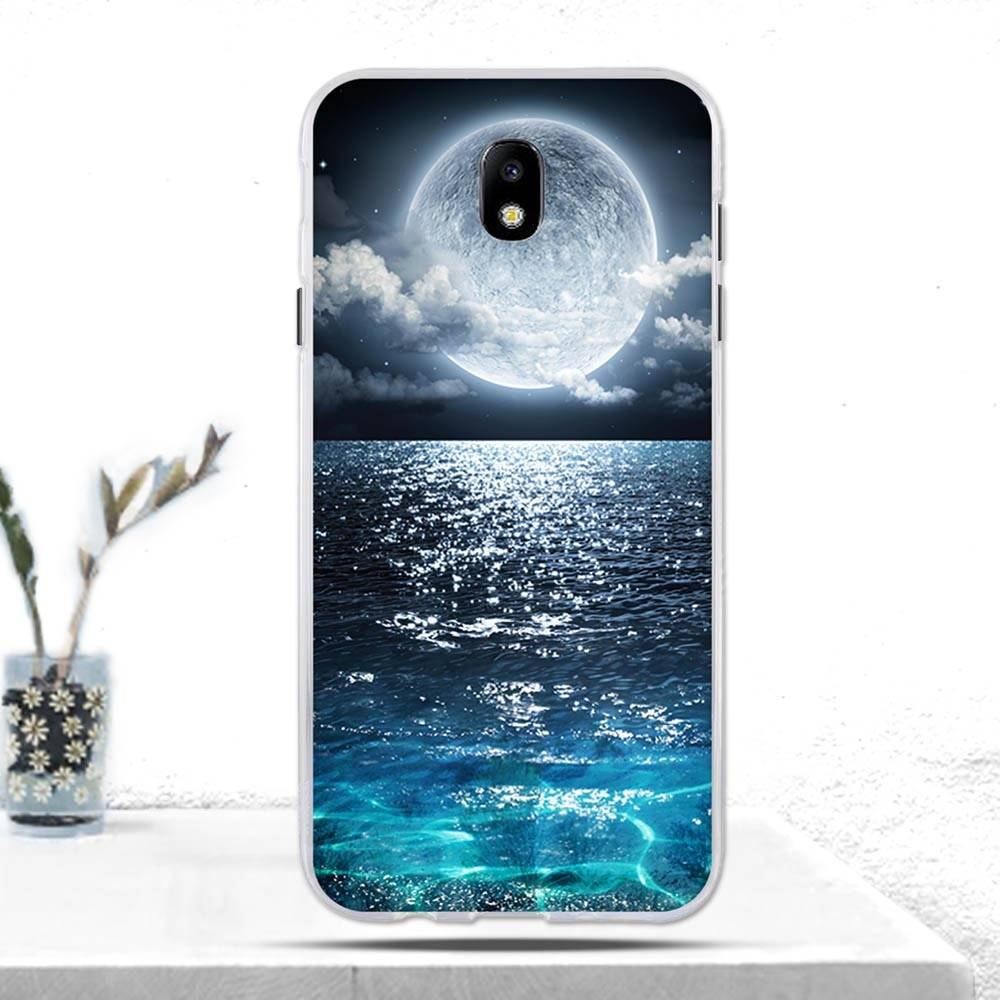 Phone Case For Samsung Galaxy J7 2017 J730F (EU Version) Case Soft TPU Silicone Back Cover for Samsung J7 2017 J730F Cover Coque Samsung Case