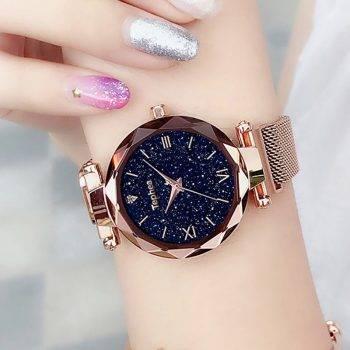 Luxury Women Watches Magnetic Starry Sky Female Clock Quartz Wristwatch Fashion Ladies Wrist Watch reloj mujer relogio feminino Women's Watches