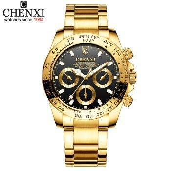 Men Golden Luxury Watches Brand 2019 New Fashion Simple Analog Quartz Wrist Watches Stainless Steel Band Watch Relogio Men's Watches