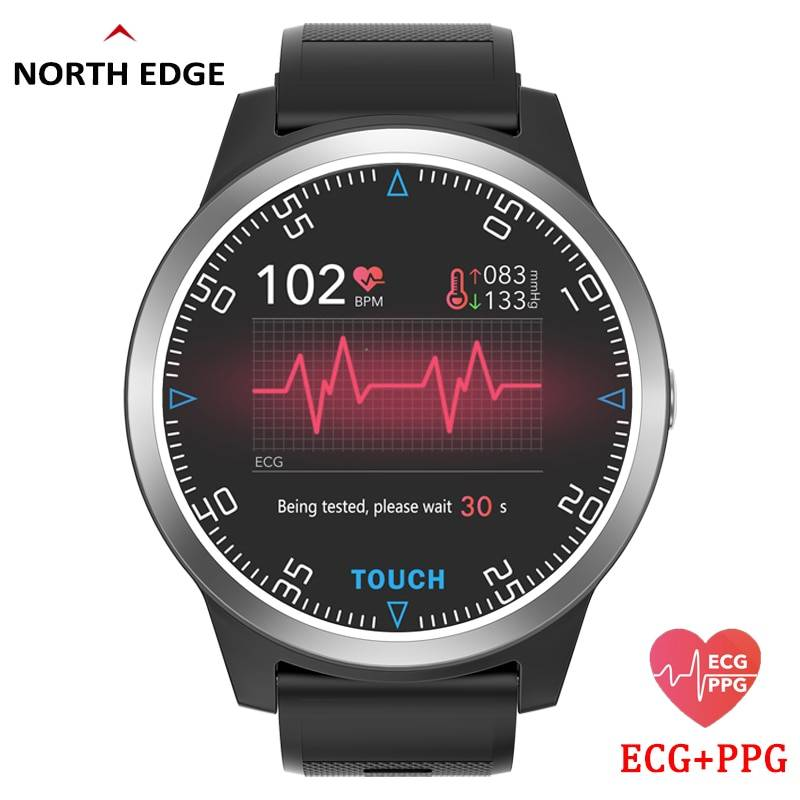 Smart Watch Sport Fitness Activity ECG PPG Blood Pressure Heart Rate Monitor Wristband IP67 Waterproof Band For IOS Android Men's Watches