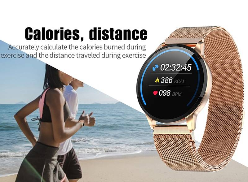 Women Sport Smart Watch Men LED Waterproof SmartWatch Heart Rate Blood Pressure Pedometer Watch Clock For Android iOS Women's Watches