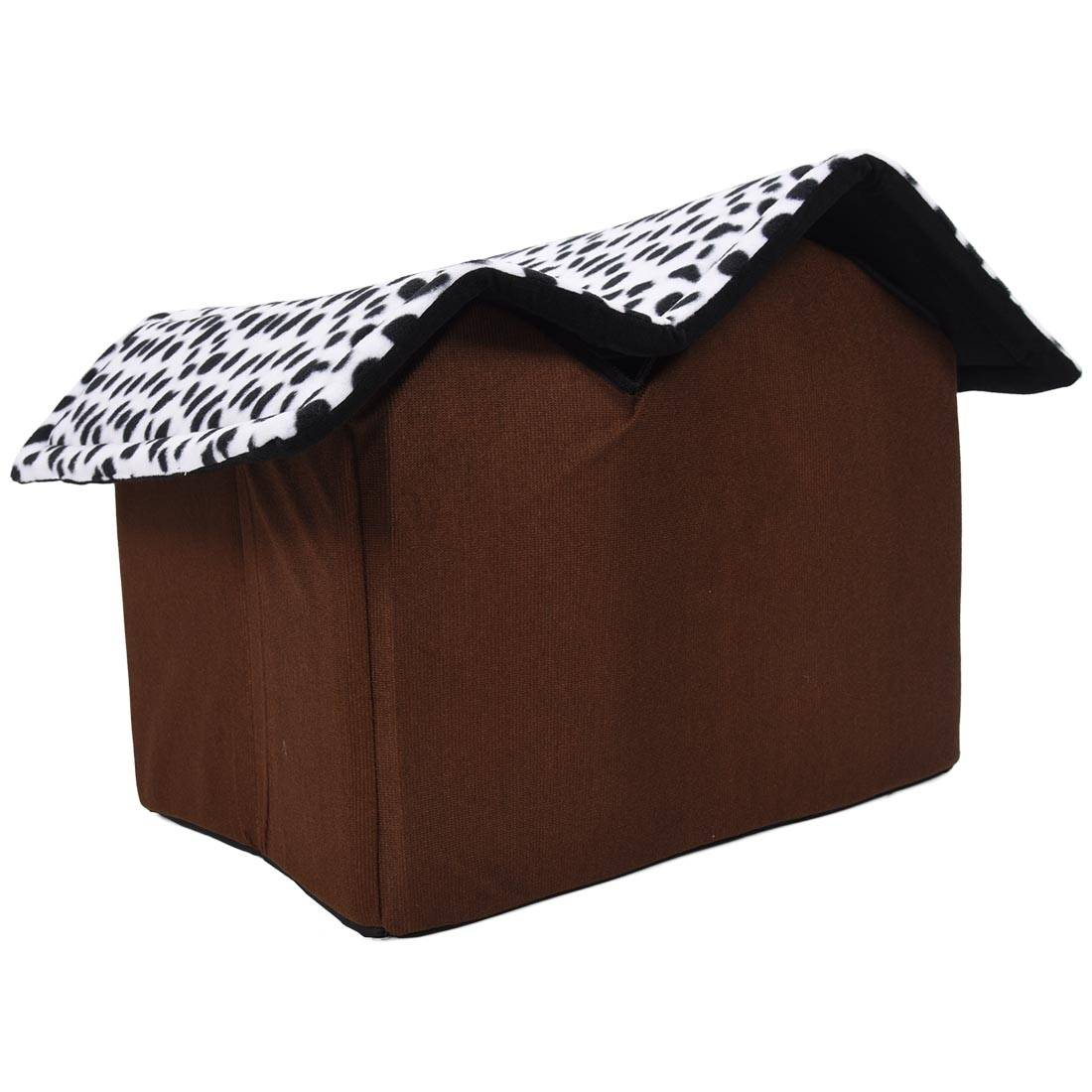 Hot Removable Dog Beds Double Pet House Brown Dog Room Cat Beds Dog Cushion Luxury Pet Products 55 x 40 x 42 cm Cat's Accessories Dog's Accessories