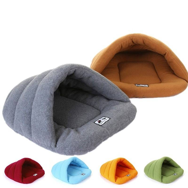 Winter Warm Slippers Style Dog Bed Pet Dog House Lovely Soft Suitable Cat Dog Bed House for Pets Cushion High Quality Products Cat's Accessories Dog's Accessories