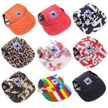 Pet Dog Hat Cap Baseball Fashion Hat For Dogs Casual Canvas Cap For Dog Hat Chihuahua Yorkshire 11 Colors 31 A1 Dog's Accessories