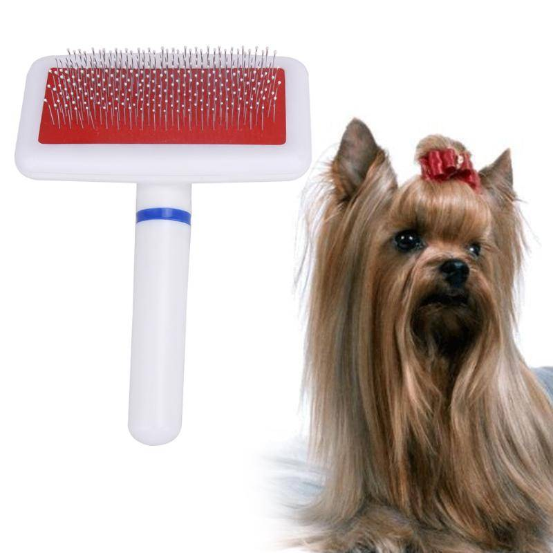 High Quality Dog Needle Comb Pet Doy Puppy Cat Hair Gilling Beauty Bath Massage Grooming Comb Brush Pet Cleaning Supplies Dog's Accessories