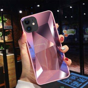 diamond 3d mirror back cover for iphone 11 Pro Case for iphone X XR XS Max 8 7 6 6S Plus case For iPhone 11 Pro Max 6.5 inch iPhone Case Phone Bags & Cases