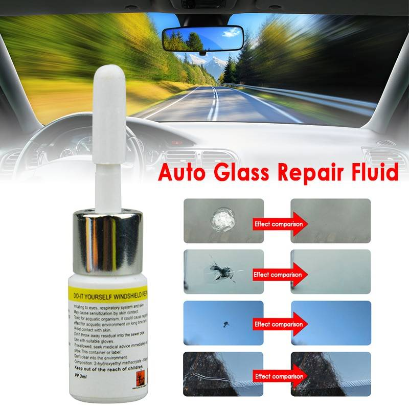 Car Window Glass Cracked Scratch Restore DIY Windshield Repair Tools Auto Glass Scratch remove care accessories TSLM1 Car Accessories