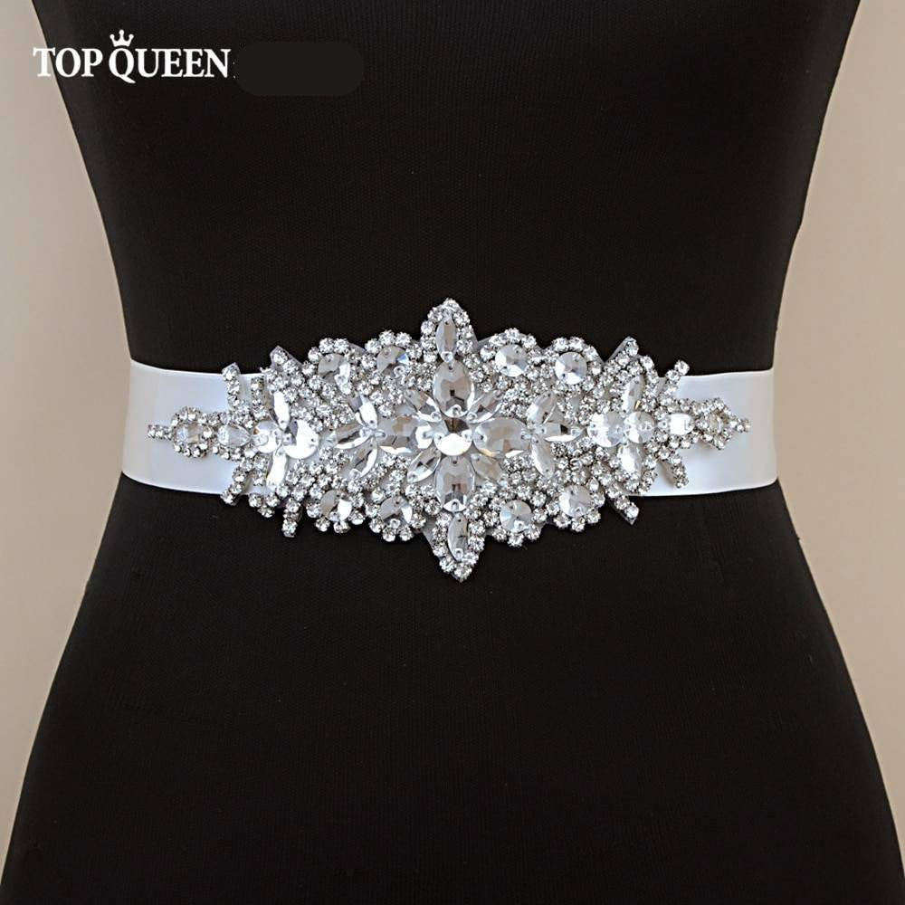 Luxury Women's Belt Wedding Belt Accessories Bride Bridesmaid Bridal Sashes Belts For Evening Party Prom Gown Dress Jewelry Wedding & Engagement Jewelry