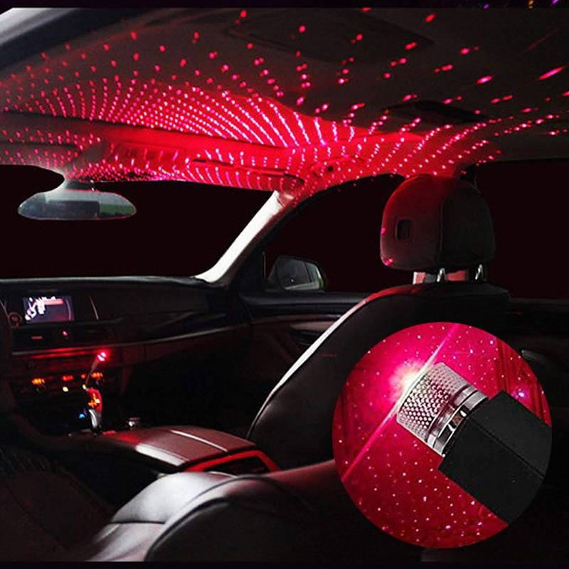 Car and Home Ceiling USB Night Light Car Accessories
