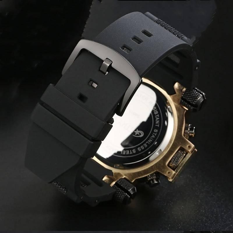STRYVE 2020 Sport Watch Japan Miyota Waterproof Date Watch Top Brand Luxury Watch for Men Clock LED Backlight Watch reloj hombre Men's Watches Watches